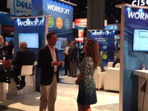 ASUG and CenturyLink at Worksoft Booth