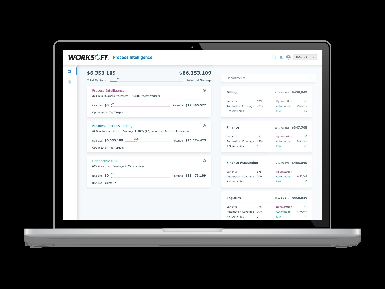 Monitor with Dashboard metrics
