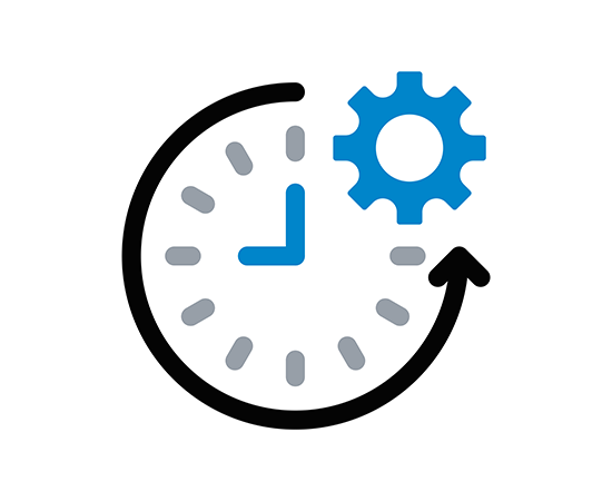 gears icons test auto pillar page clock gear