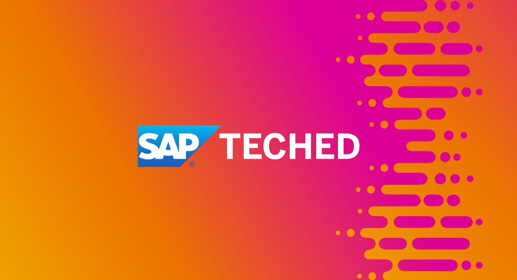 SAP TechEd in 2020