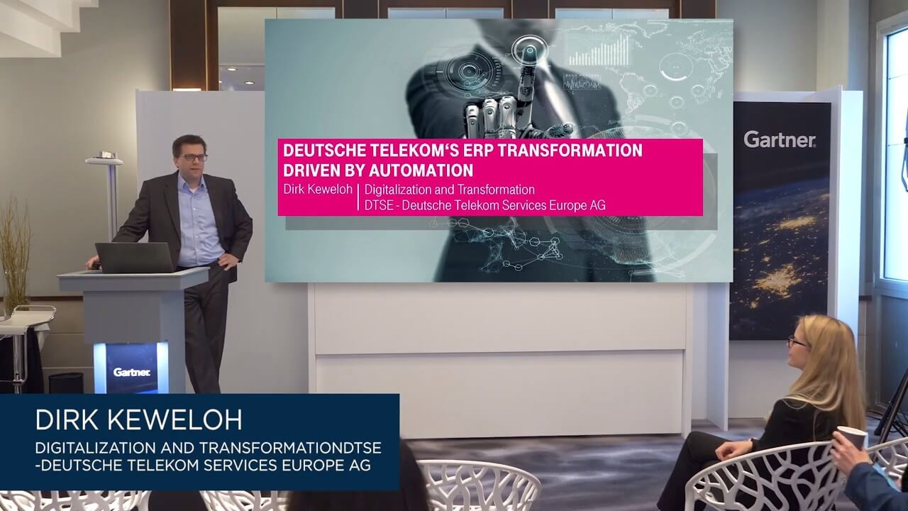 Deutsche Telekom Accelerates ERP Migration with Intelligent Automation
