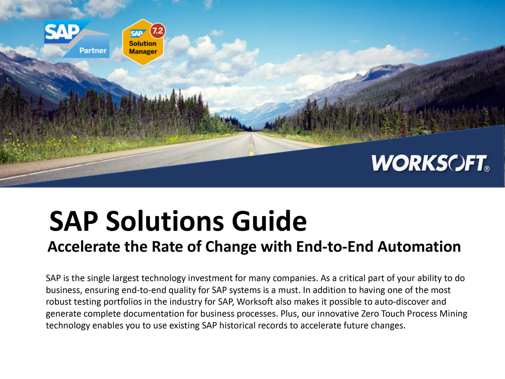 SAP Solutions Guide